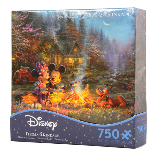 Mickey and Minnie Sweetheart Fire jigsaw puzzle