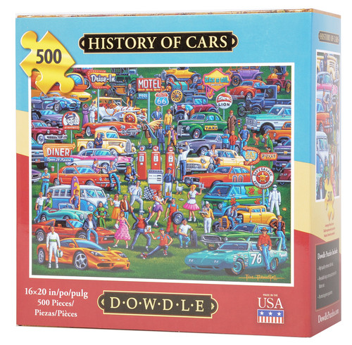 History of Cars Jigsaw Puzzle