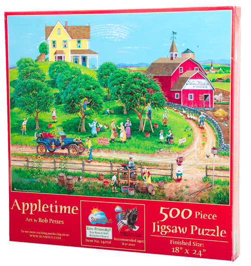 Appletime by Bob Pettes - Jigsaw Puzzle