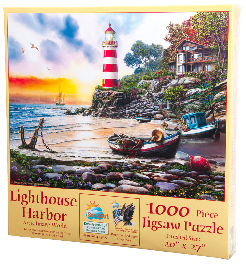 Lighthouse Harbor Puzzle
