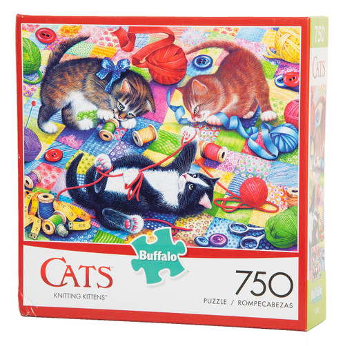 Knitting Kittens 750-piece Puzzle