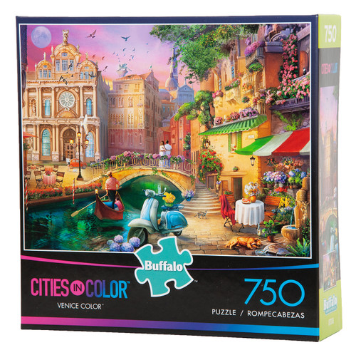 Venice in Color - Cities in Color - 750 Piece Puzzle