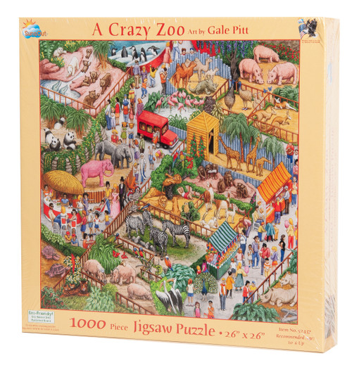 A Crazy Zoo Jigsaw Puzzle