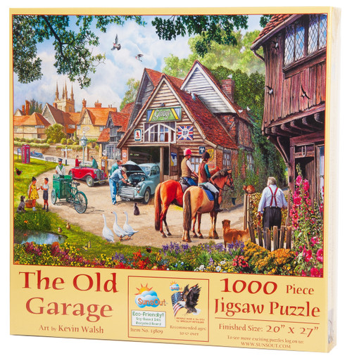 The Old Garage Puzzle