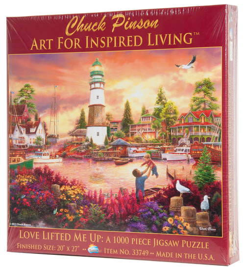 Love Lifted Me Up 1000 Piece Puzzle