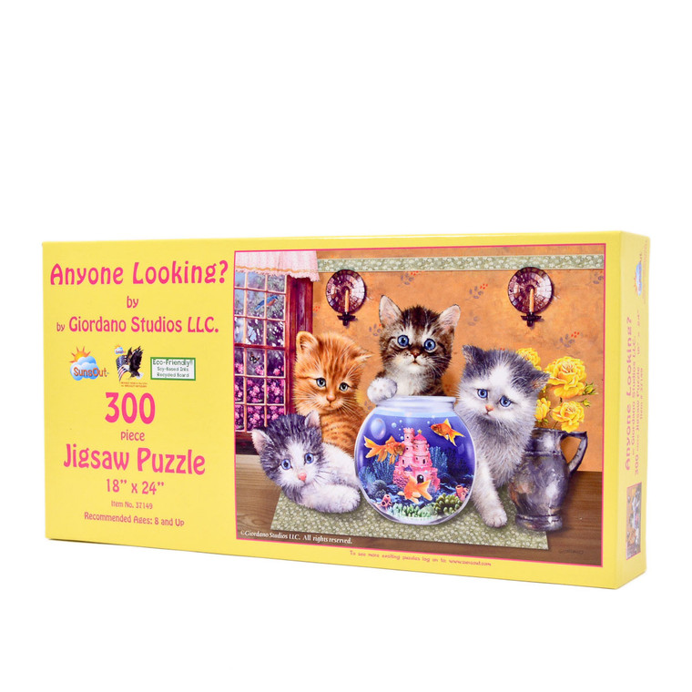 Anyone Looking? (300 Large Piece Puzzle)