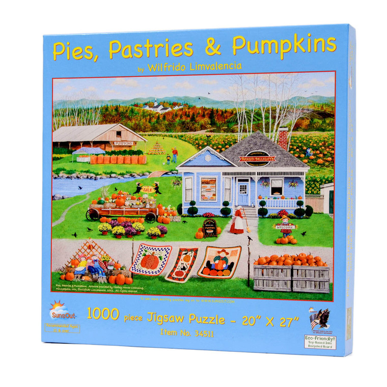 Pies, Pastries, and Pumpkins Jigsaw Puzzle