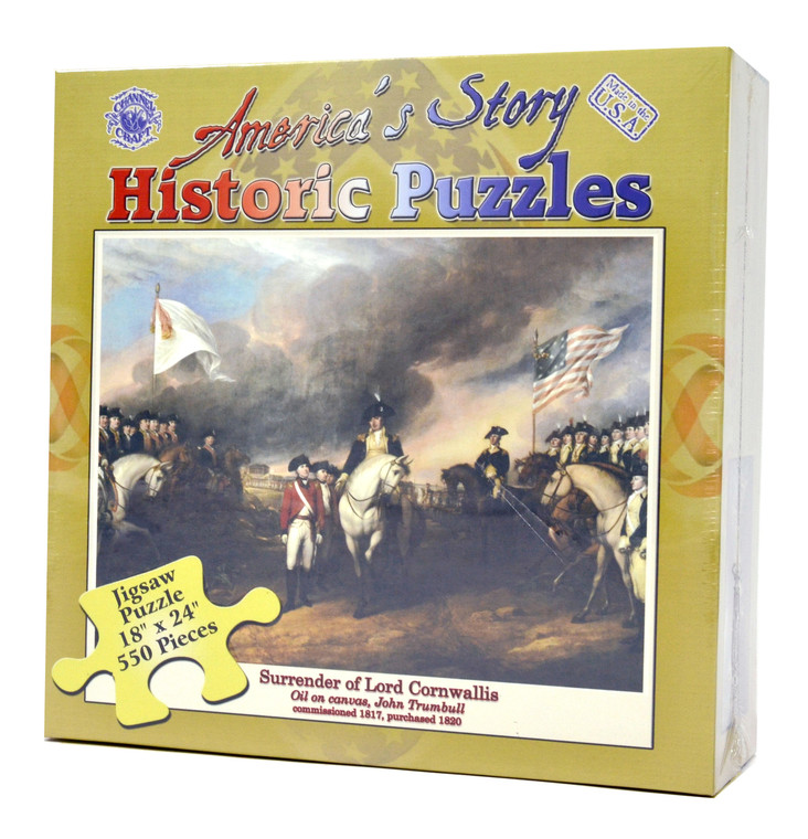 Surrender of Lord Cornwallis Puzzle