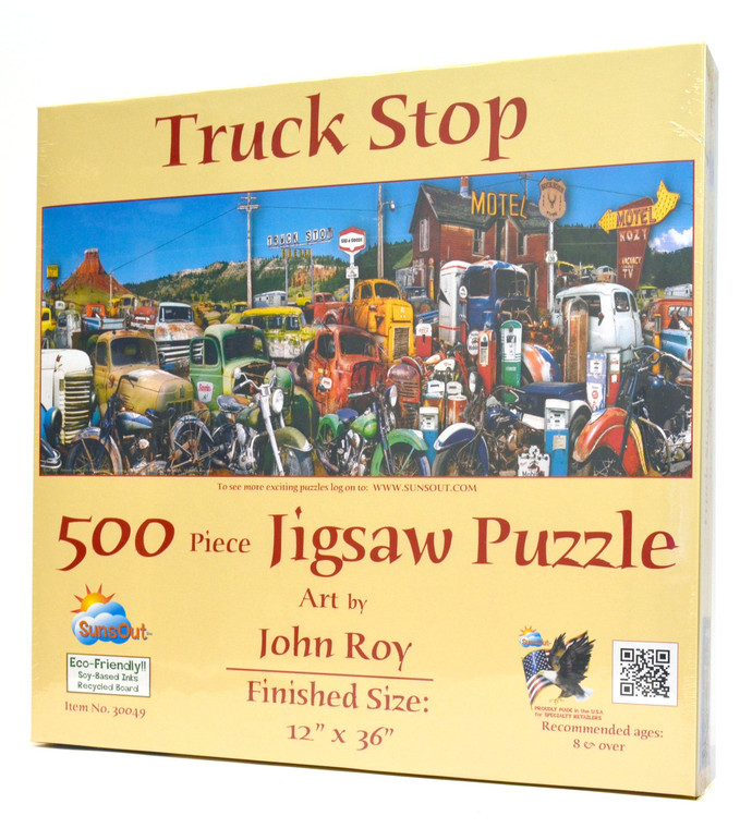 Truck Stop Puzzle
