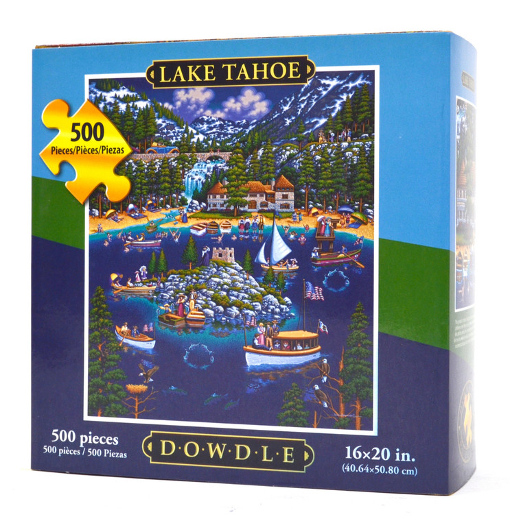 Lake Tahoe (500 Pieces)