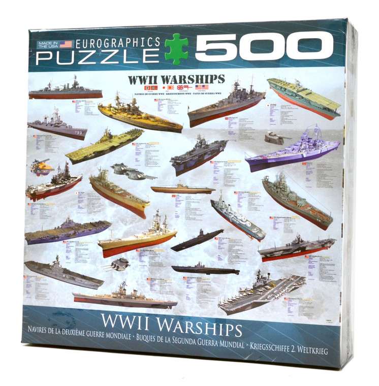 WWII Warships Puzzle