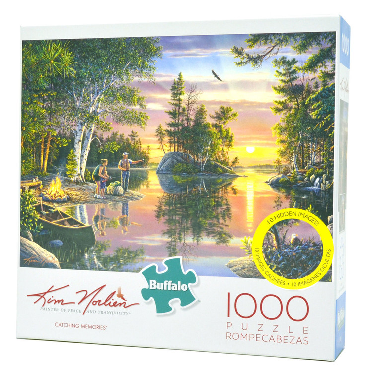 Catching Memories 1000-Piece Jigsaw Puzzle