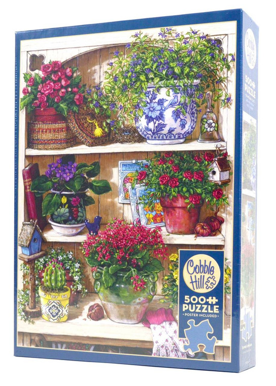 Flower Cupboard Puzzle