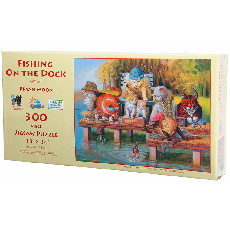 Fishing on the Dock Puzzle