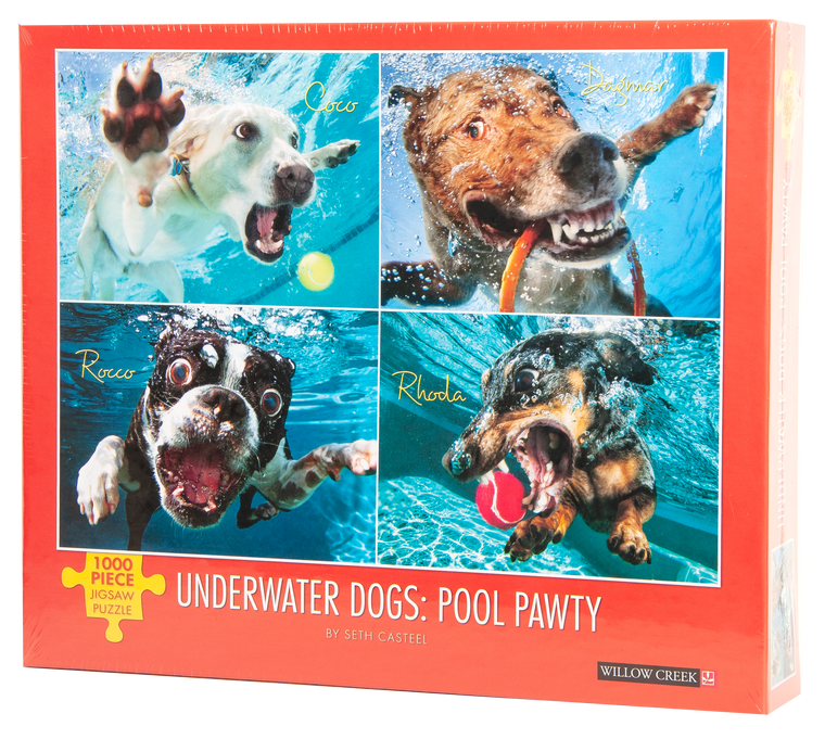 Underwater Dogs: Pool Pawty