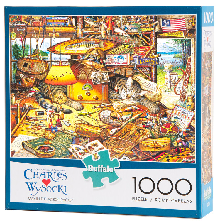 Max in the Adirondacks Jigsaw Puzzle