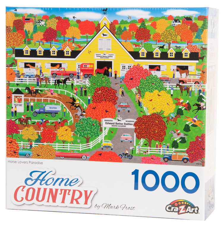 Horse Lovers Paradise Home Country Puzzle