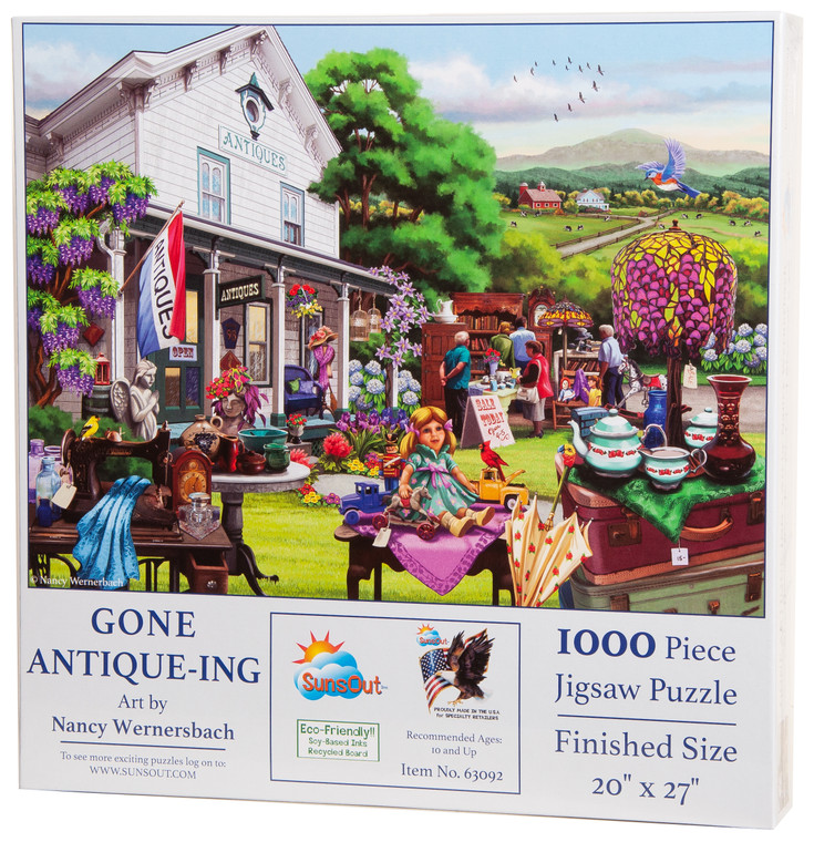Gone Antique-ing 1000-Piece Puzzle
