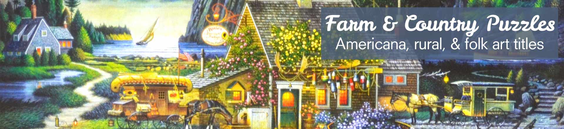 Farm and Country Puzzles