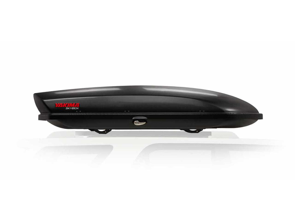 yakima skybox 16 carbonite - side view