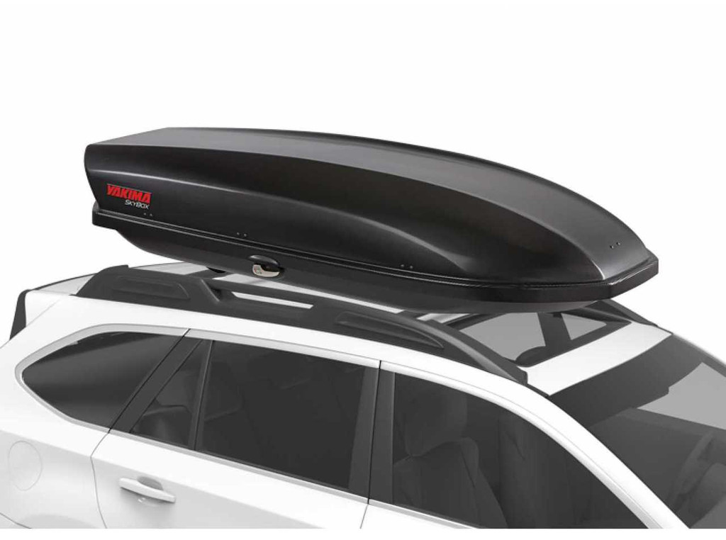 yakima skybox 16 carbonite - on suv