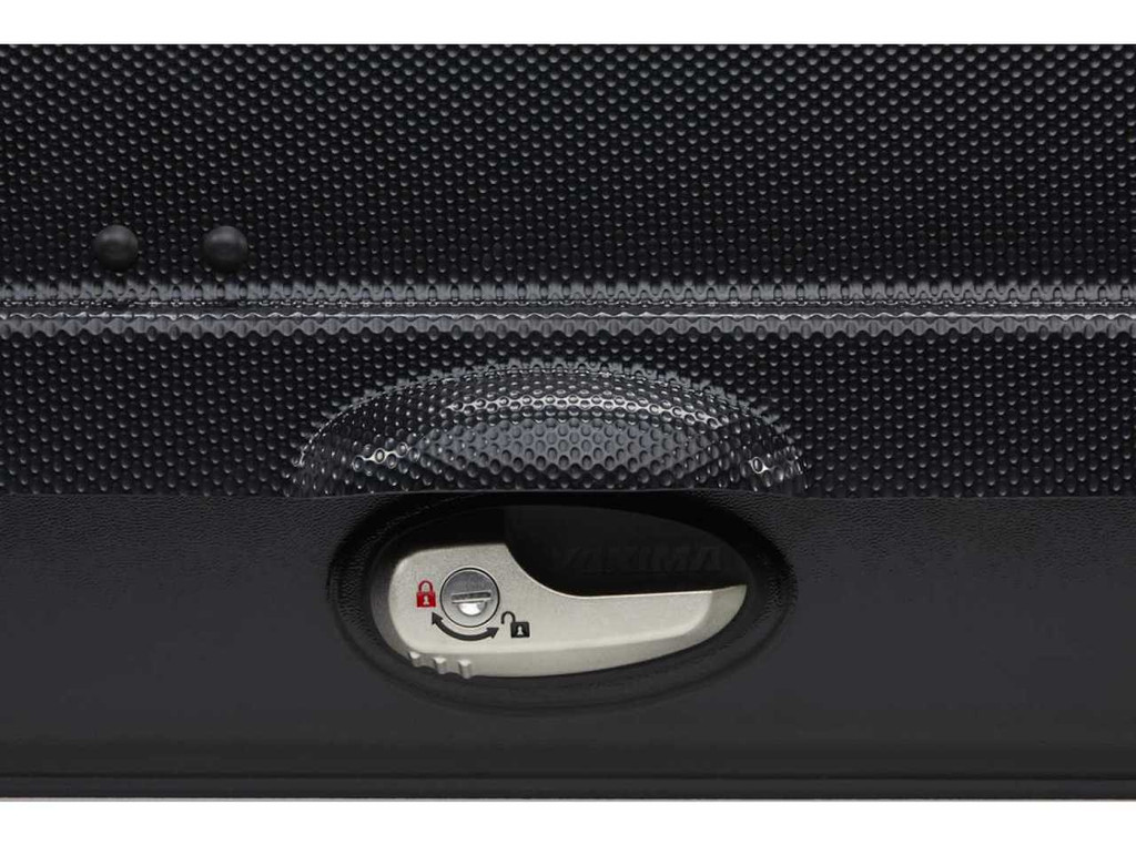 yakima skybox 16 - carbonite lid color texture, latch