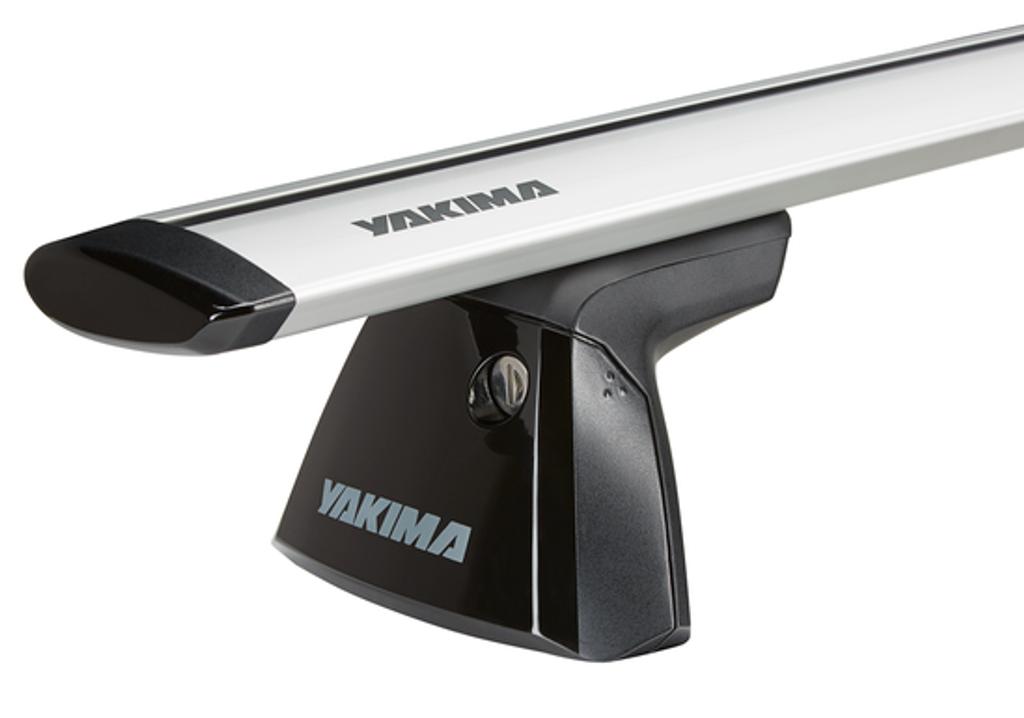 yakima baseline clip tower 8000146 - with jetstream aerodynamic bar