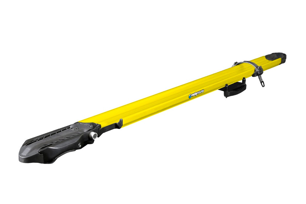 rockymounts switchhitter fork bike carrier yellow
