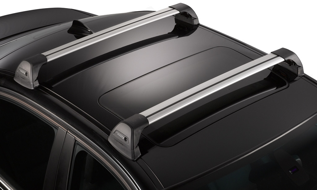 WhispBar S22 Flush Bar - mounted on car