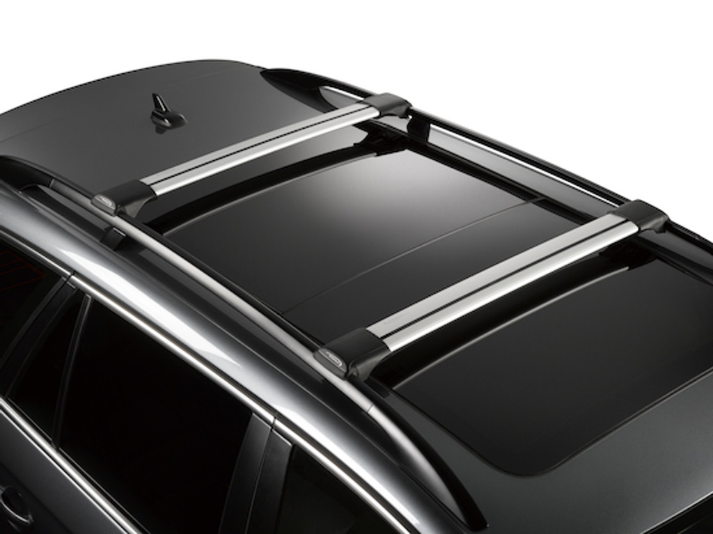 whispbar s56 - bars installed on roof