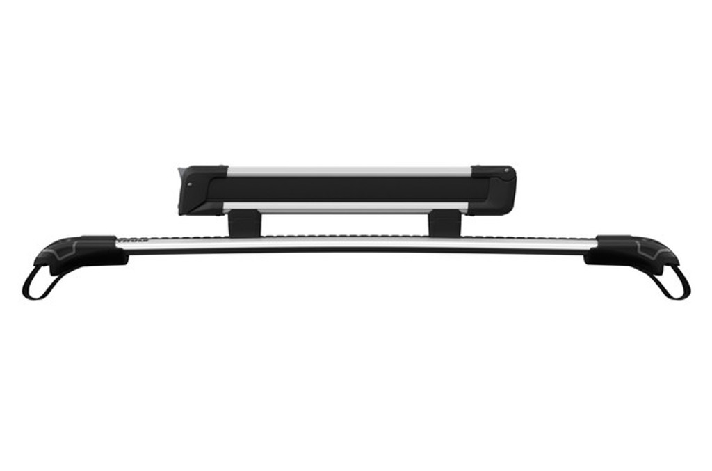 thule snowpack 732600 with extension riser blocks
