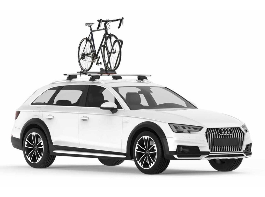 yakima highroad with bike on roof