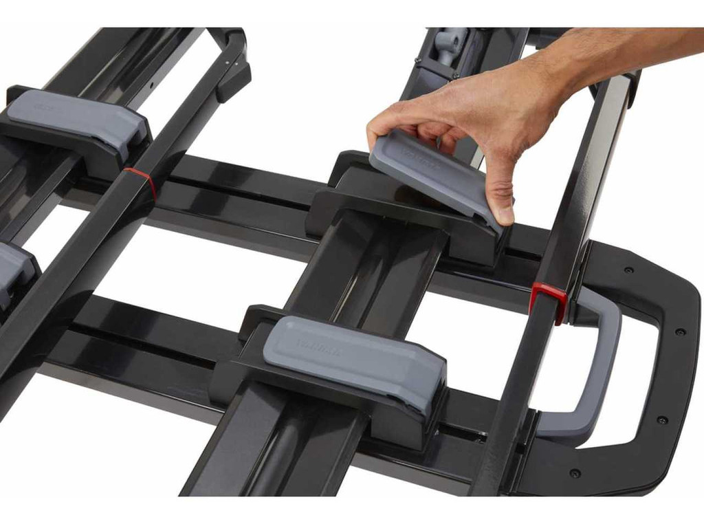 dr. tray hitch rack quick adjust
