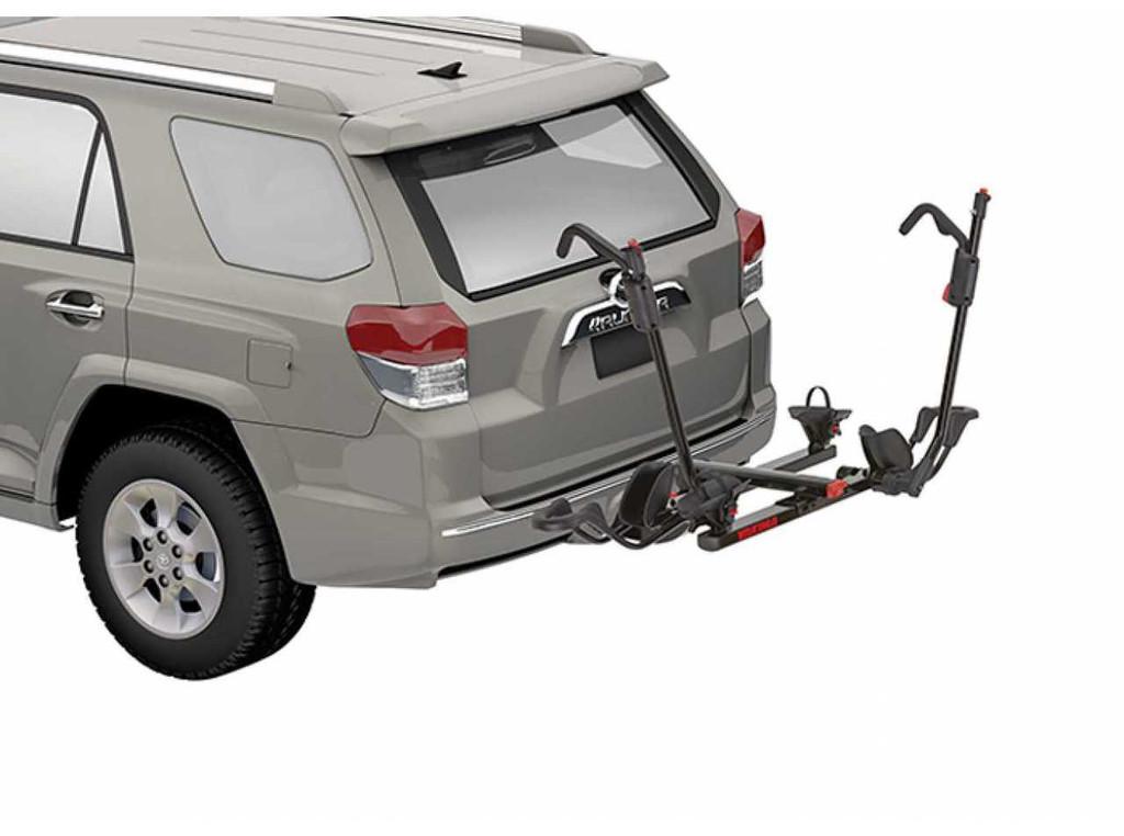 "Yakima Holdup 2"" Bike Hitch Rack - mounted on SUV"