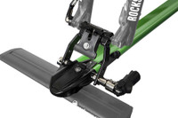 rockymounts t-slot aerodynamic crossbar with bike mount