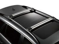 whispbar s54 - bars installed on roof