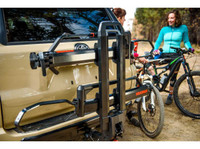 dr. tray yakima bike hitch rack folded up