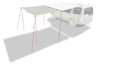rhino rack 31101 foxwing sunseeker awning extension