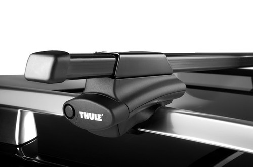 "thule 45058 complete crossroads. 450 towers 58"" bars locks"