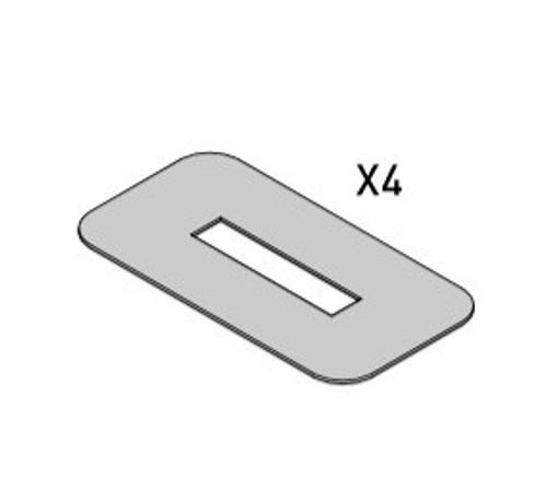 whispbar fixed point anti abrasion pads. 8880505