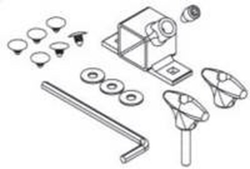 Yakima Tandem Mount Replacement Hardware Bag 8820127