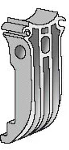 Yakima LowRider Max Replacement Single Claw 1 8810162