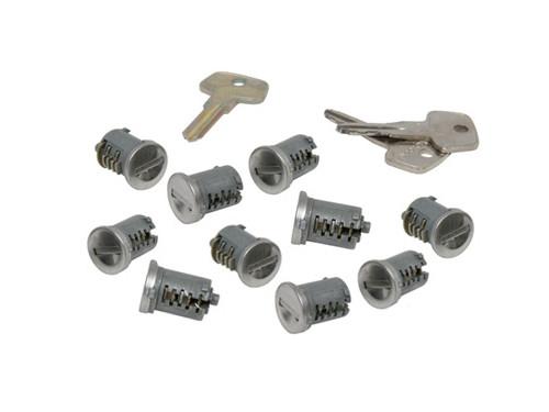 yakima sks lock cores with keys set of 10