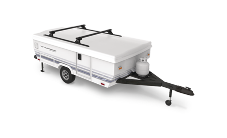 Custom Roof Rack for Camper Trailer