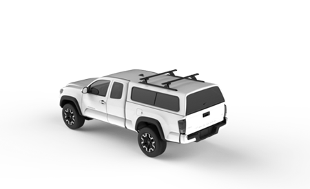 Truck Canopy Custom Roof Rack Track