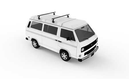 Van Side Brackets for Custom Roof Rack