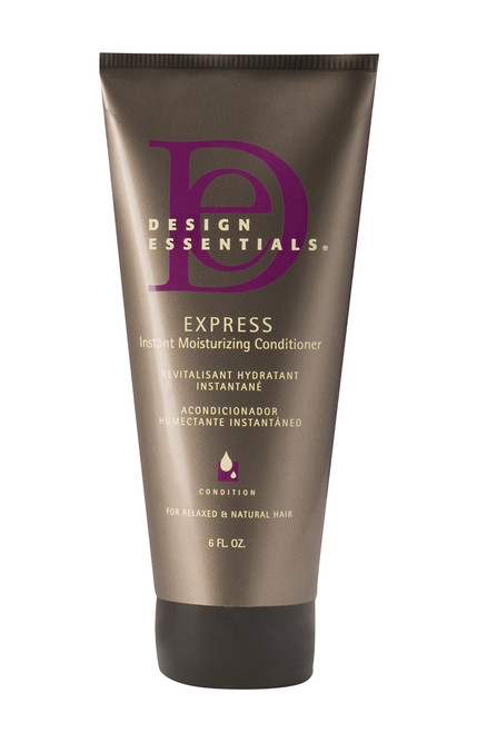 An 6oz bottle of Design Essentials Almond Butter Instant Moisturizing Conditioner