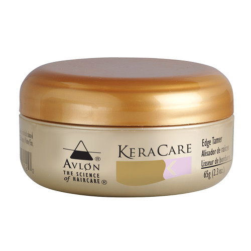 A 2.3oz jar of KeraCare Edge Tamer
