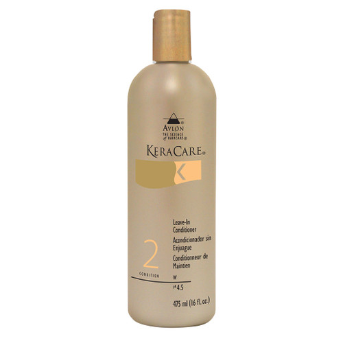 A bottle of Keracare Leave-In Conditioner 16oz