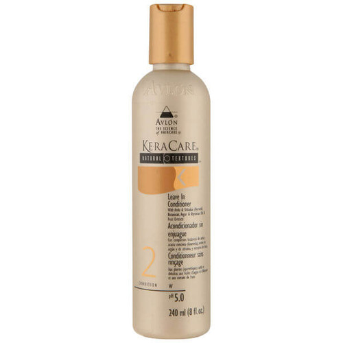 An 8oz bottle of KeraCare Natural Textures  Leave In Conditioner